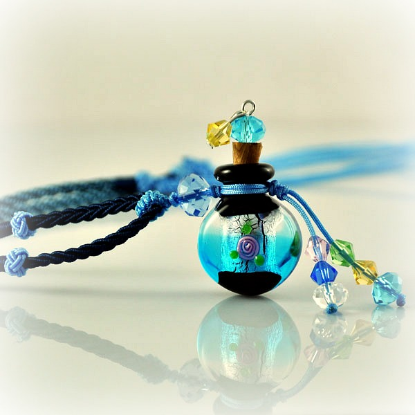 Halskette Oceanic Blue
