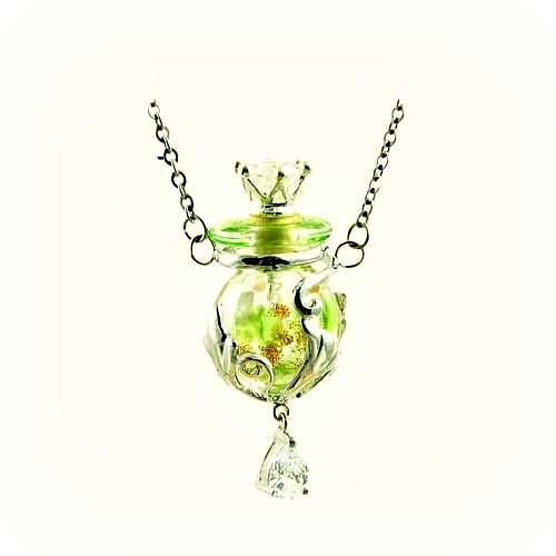 Halskette Royal, hellgrün